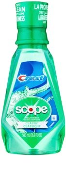 Crest Scope Classic elixir bocal para hálito fresco