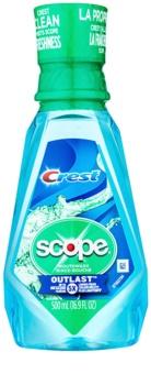 Crest Scope Outlast Mundwasser für frischen Atem