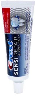 Crest Sensi Repair & Prevent pasta para fortalecer el esmalte dental para dientes sensibles