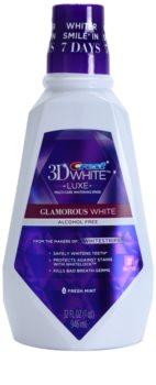 Crest 3D White Luxe Glamorous White enjuague bucal para una sonrisa radiante