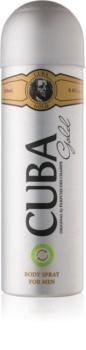 Cuba Gold Body Spray for Men