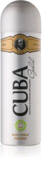 Cuba Gold spray corporel pour homme 200 ml
