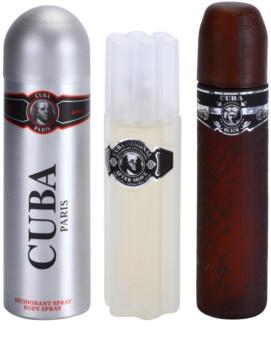 Cuba Black darčeková sada II.