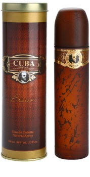 Cuba Brown Eau de Toilette für Herren 100 ml