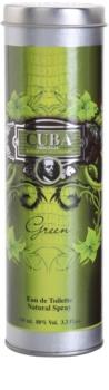 Cuba Green Eau de Toilette for Men 100 ml