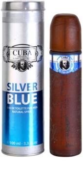 Cuba Silver Blue toaletní voda pro muže 100 ml