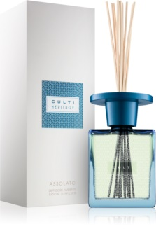 Culti Heritage Assolato Aroma Diffuser met navulling 500 ml I. (Blue Arabesque)