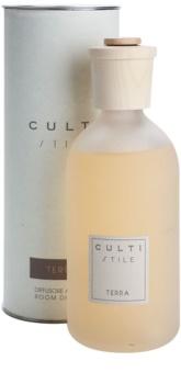 Culti Stile Aroma Diffuser mit Nachfüllung 250 ml mittelgrosse Packung (Terra)