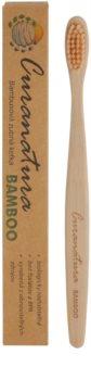 Curanatura Bamboo bambusowa szczoteczka do zębów soft