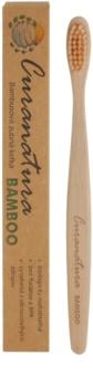 Curanatura Bamboo Periuta de dinti de bambus fin