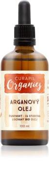 Curapil Organics arganovo olje za telo in lase