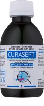 Curaprox Curasept ADS 220 antibakteriální ústní voda před a po chirurgickém zákroku