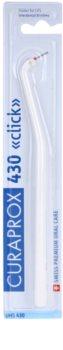 Curaprox Click UHS 430 profesionálny plastový držiak na medzizubné kefky