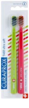 Curaprox 5460 Ultra Soft Stripes escovas de dentes 2 unidades