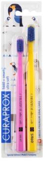 Curaprox 5460 Ultra Soft Animal Family Edition зубні щітки 2 шт