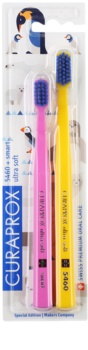 Curaprox 5460 Ultra Soft Animal Family Edition Toothbrushes, 2 pcs