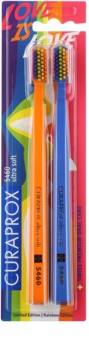 Curaprox 5460 Ultra Soft Rainbow Edition zubné kefky 2 ks