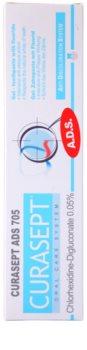 Curaprox Curasept ADS 705 creme dental antibacteriano em gel para uso diário