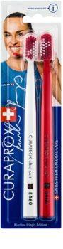 Curaprox 5460 Ultra Soft Martina Hingis Edition cepillo de dientes 2 uds