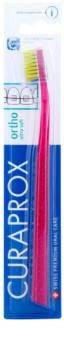 Curaprox Ortho Ultra Soft 5460 kieferorthopädische Zahnbürste für Träger von festen Zahnspangen