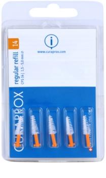 Curaprox Regular Refill CPS tartalék kúpos fogköztisztító kefék a csomagolásban 5 db