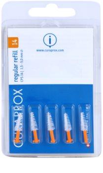 Curaprox Regular Refill CPS zapasowe stożkowate szczoteczki międzyzębowe w zestawie 5 szt.