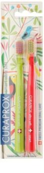 Curaprox 7600 Smart Ultra Soft Jungle Edition szczoteczki do zębów 2 szt.