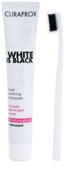 Curaprox White is Black coffret I.