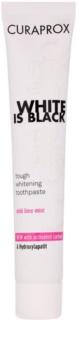 Curaprox White is Black pasta de dientes blanqueadora con carbón activo e hidroxiapatito