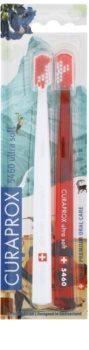 Curaprox 5460 Ultra Soft Swiss Edition - Zermatt szczoteczki do zębów 2 szt.