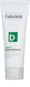 CutisHelp Health Care D - Defekt konopná mast při poškození pokožky urychlující hojení