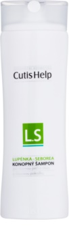 CutisHelp Health Care L.S - Lupénka - Seborea konopný šampom proti lupénce a seboroické dermatitidě