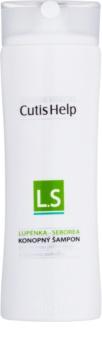 CutisHelp Health Care L.S - Psoriasis - Seborrhea Shampoo mit Hanf gegen Schuppen und Seborrhoisches Ekzem