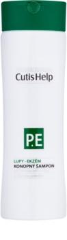 CutisHelp Health Care P.E. - Dandruff - Eczema шампунь з екстрактом коноплі проти лупи та при проявах екземи