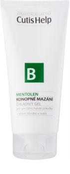 CutisHelp Health Care B - Mentolen gel refrescante de cânhamo com mentol para músculos e articulações