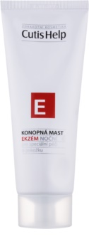 CutisHelp Health Care E - Eczema ekcéma elleni éjszakai kenőcs kenderből arcra és testre