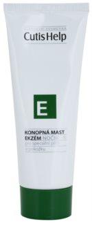 CutisHelp Health Care E - Eczema Nachtcreme mit Hanf beim Auftreten von Ekzemen Für Gesicht und Körper