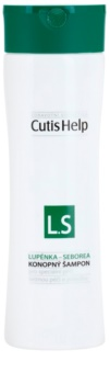 CutisHelp Health Care L.S - Psoriasis - Seborrhea Hennep Shampoo tegen Schilvers en Seborrheic Dermatitis