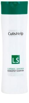 CutisHelp Health Care L.S - Psoriasis - Seborrhea konopljin šampon proti luskavici in seboroičnemu dermatitisu