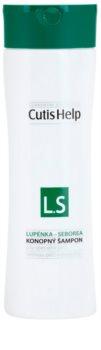 CutisHelp Health Care L.S - Psoriasis - Seborrhea șampon din cânepă pentru psoriazis si dermatita seboreica