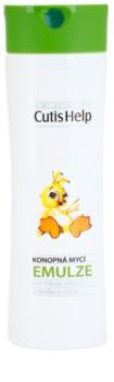 CutisHelp Mimi emulsión limpiadora de cáñamo para bebé lactante