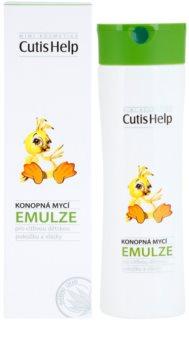 CutisHelp Mimi emulsione detergente alla canapa per neonati