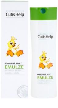 CutisHelp Mimi konopná umývacia emulzia pre deti od narodenia