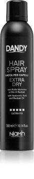 DANDY Hair Spray laca de fixação forte  com ácido hialurónico