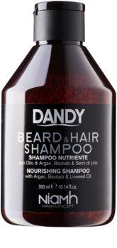 DANDY Beard & Hair Shampoo шампунь для волосся та бороди