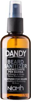 DANDY Beard Sanitizer Leave-in antibacteriele spay voor bescherming van baard