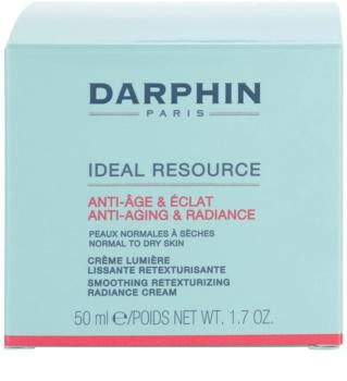 Darphin Ideal Resource Gladmakende Crème voor Structuur en Verheldering Herstel van de Huid