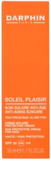 Darphin Soleil Plaisir Zonnebrandcrème voor Gezicht  SPF30