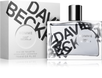 David Beckham Homme eau de toilette para homens 75 ml