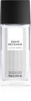 David Beckham Homme deodorant s rozprašovačem pro muže 75 ml